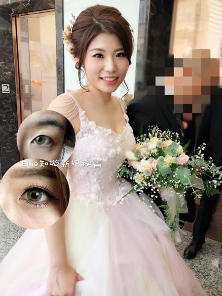 WeddingMiraLin結訂婚造型