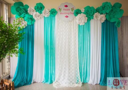 6號布幔套餐❤立體玫瑰Tiffany款-全省可寄送