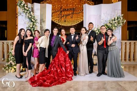 婚禮紀錄|明星雲集 夢幻婚禮