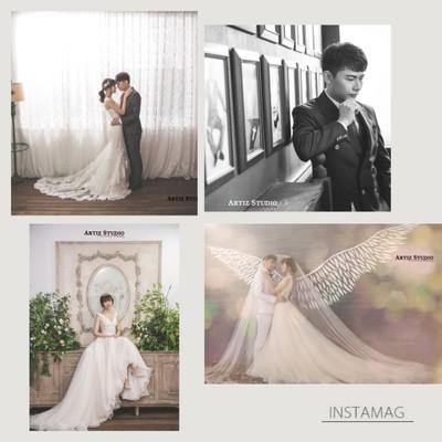 超級推薦的絕美婚紗照—韓國藝匠