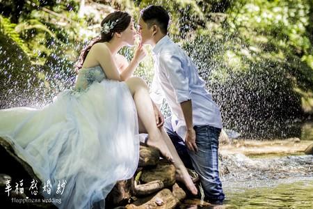 幸福感婚紗新人婚紗分享