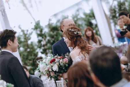 *Chloe wedding*證婚造型