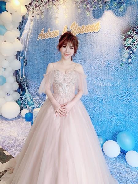 *Chloe wedding* 裸粉色仙仙風