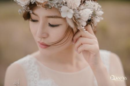 幸福新娘。百變公主