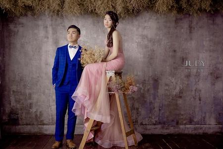 文勝❤️依儒-JUDY茱蒂文創婚禮-外拍景點推薦-黑森林-韓風內景