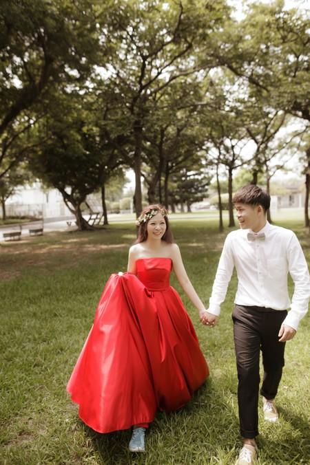Ming  ❤ Coco 桃園vanessa 手工婚紗。攝影工作室