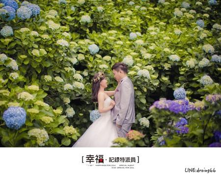 『自助婚紗』繡花季