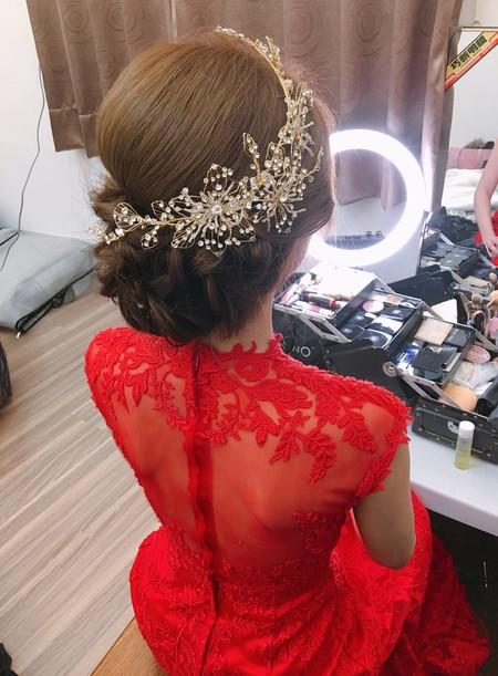 韓風~優雅盤髮