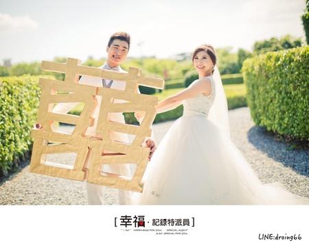 """【自助婚紗】- 處處有""""金喜"""""""