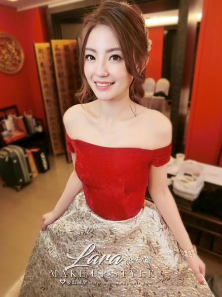 夢幻城堡彩妝造型-新秘LARA-婚宴造型