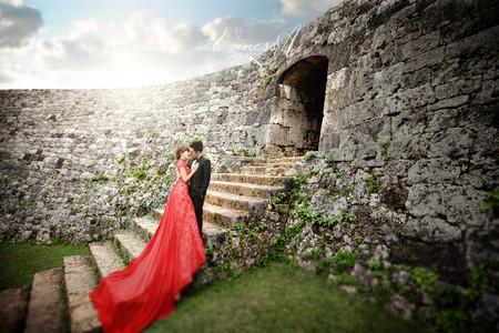沖繩婚紗 ❤ 桃園vanessa 手工婚紗。攝影工作室