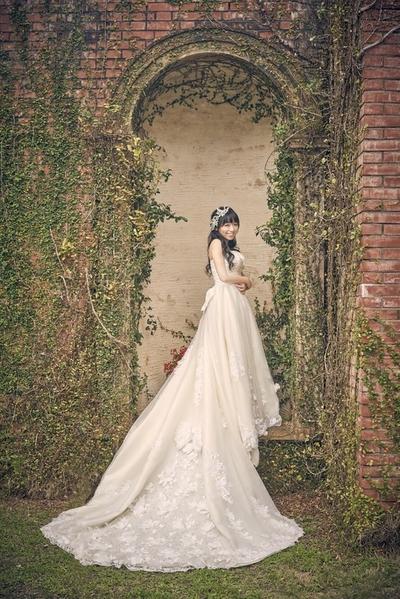 夢幻歐洲風格的婚紗照