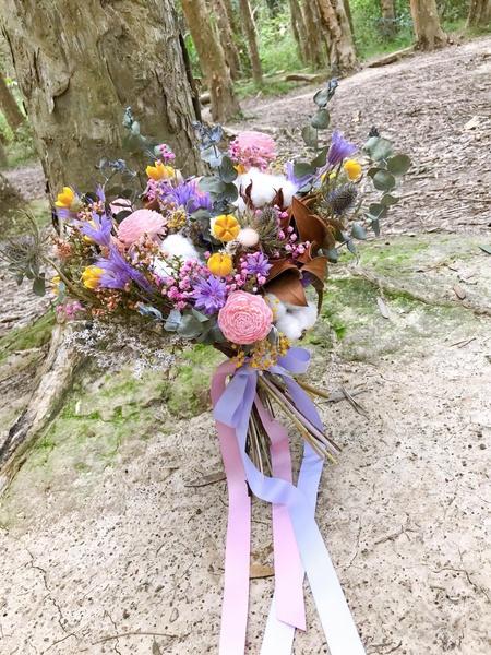 婚禮捧花花藝設計