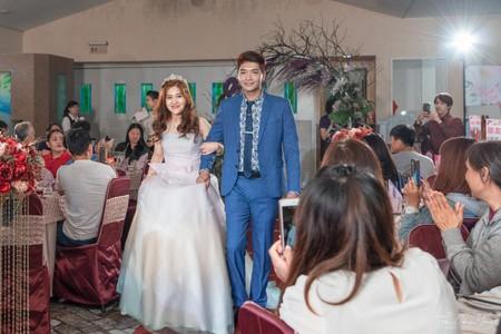 婚禮紀錄WEDDING | 台南-金冠海鮮餐廳 | 幸運草攝影工坊