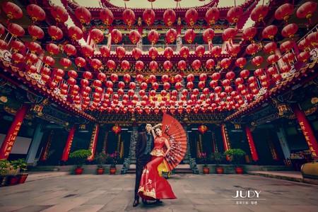 SAN❤️NICO-JUDY茱蒂文創婚禮--韓風內景-風格婚紗-婚紗秘密基地-JUDY婚紗推薦景點