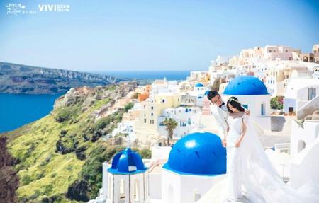海外婚紗 - 希臘聖托里尼