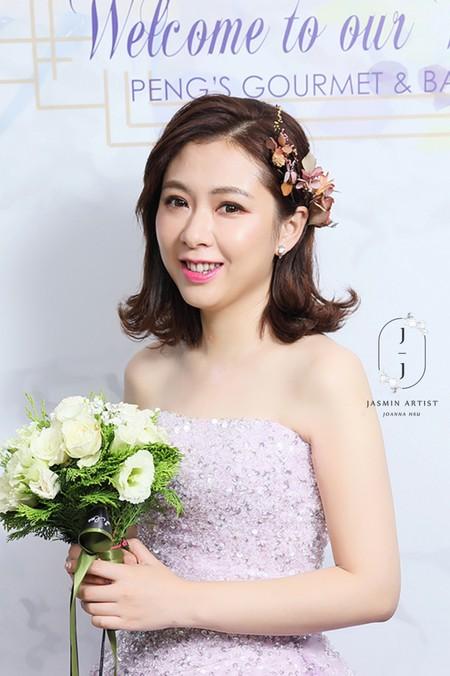 Bride -- wenny 短髮造型