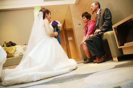 謝謝爸媽的養育之恩 ♥ 新竹喜來登 ♥ 迎娶