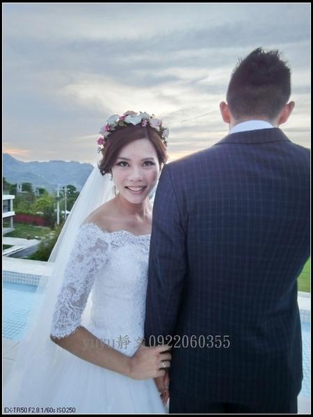 文琪結婚造型