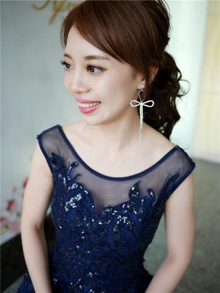 饅頭爸新秘團隊-珊婷 ❤ 雅筑婚禮造型