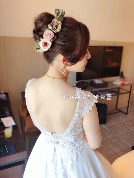 Wedding孜孜結訂婚造型