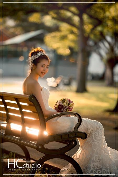 HC婚紗照 x 逆光風格