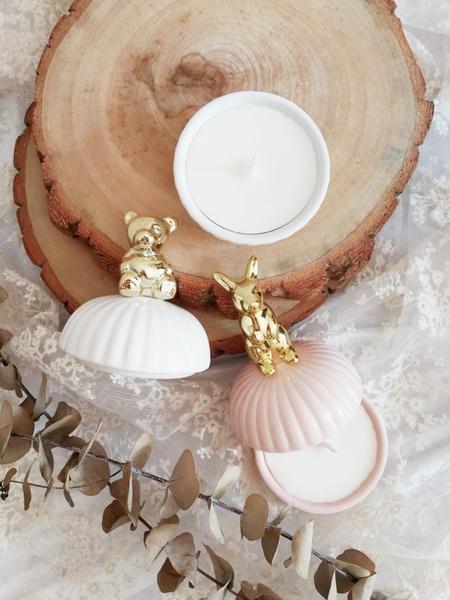 【婚禮小物】動物系陶瓷香氛蠟燭