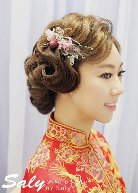 【Saly 造型總監】復古風格新娘造型