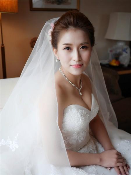 饅頭爸新秘團隊-珊婷 ❤ 喬文婚禮造型