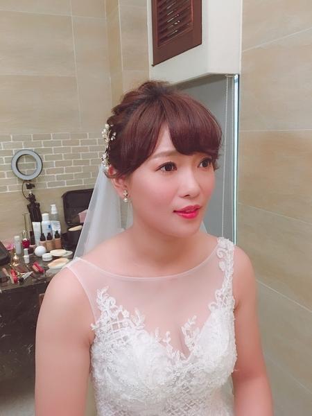 饅頭爸新秘團隊–芯媛❤妙妙 短髮新娘