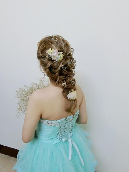 超短髮美少女的接髮造型初體驗