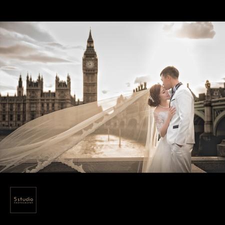 英國海外婚紗攝影