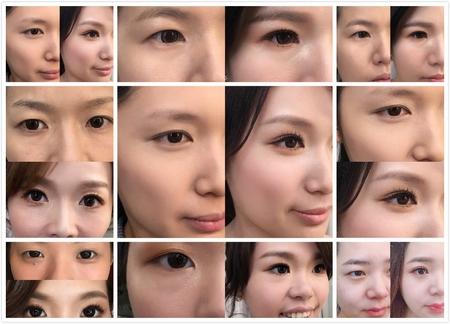 饅頭爸新秘團隊–芯媛❤單眼皮新娘五種眼型調整分享
