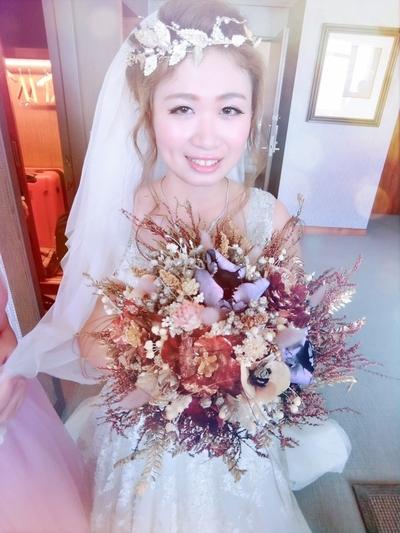滿足新娘女王夢的超完美新秘PinkySu
