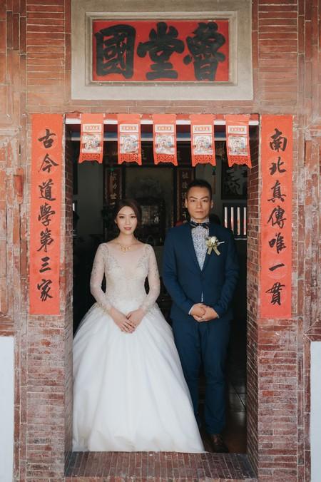 婚禮紀錄 | 高雄台鋁晶綺盛宴-迎娶+午宴(度比)