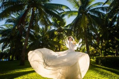 高CP值三亞海外婚拍!不輸峇里島~超美超滿...