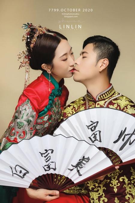 /*中式婚紗*/