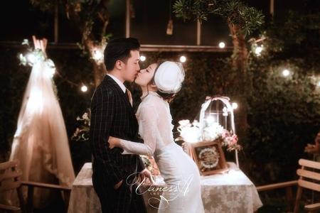 Vic ❤️ Vania 桃園vanessa 手工婚紗。攝影工作室