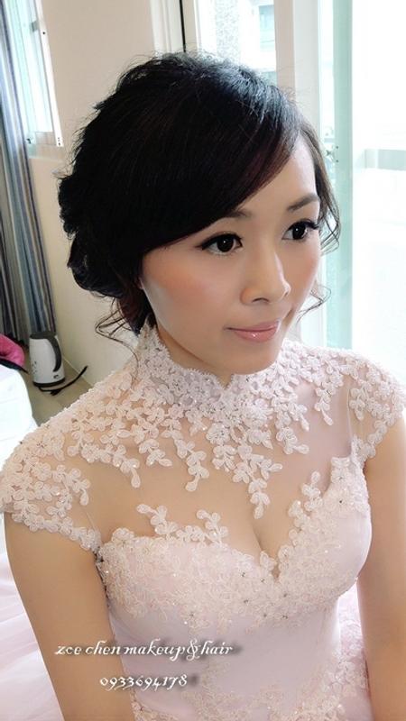 Zoe幸福新娘~文(婚宴現場造型)
