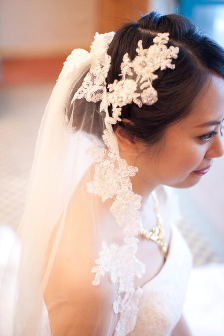 Bride~Christina 可愛花朵編髮
