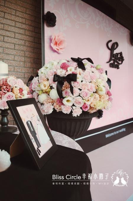 【神秘粉色派對】客製化婚禮