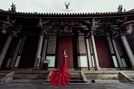 紅色禮服精選款式