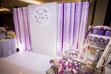 【紫色甜美鄉村】客製化婚禮