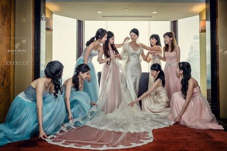 婚禮紀錄 | Sam & Linya 君悅飯店