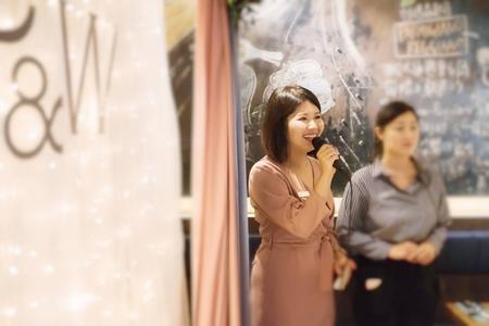MINA@婚禮現場