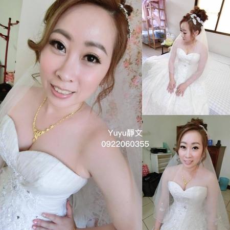 汶怡結婚造型