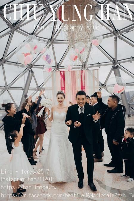 台北婚禮紀錄|大直典華|明星般的婚禮派對。