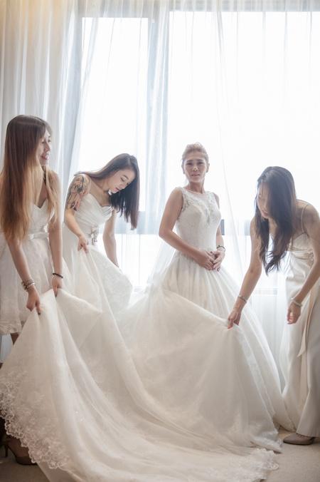 |婚禮紀實 |智翔+佳玲|自宅庭院|