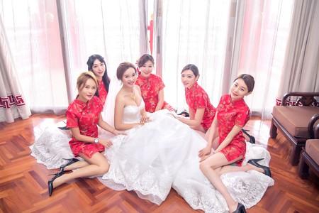 台北圓山大飯店--文定迎娶婚禮紀錄