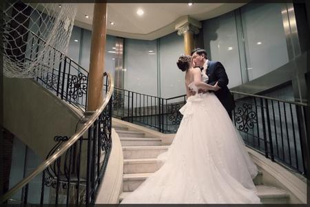 【迎娶+光美教堂儀式。高雄大八晚宴】